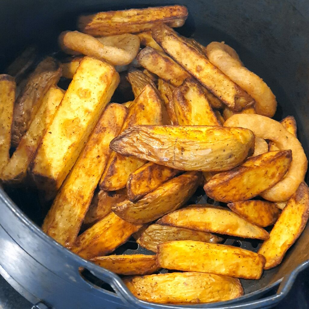 Air-Fried Potato Wedges